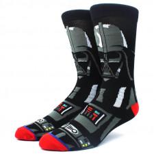 Крутые высокие носки с принтом Дарт Вейдер