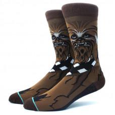 Высокие мужские носки с принтом героя Звёздных Войн Чубака