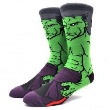 Уникальные мужские носки с принтом Халк