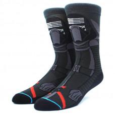 Уникальные высокие носки с принтом героя Звёздных Войн Кайло Рен