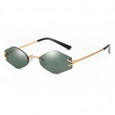 Крутые солнцезащитные очки Gold R2