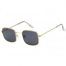 Модные солнцезащитные очки Gold R6