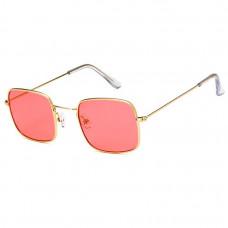 Модные солнцезащитные очки Gold R7