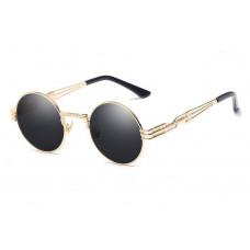 Стильные солнцезащитные очки Gold T2