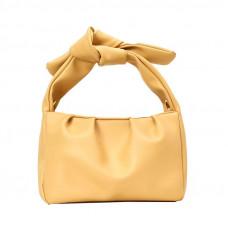 Стильная женская сумочка жёлтая