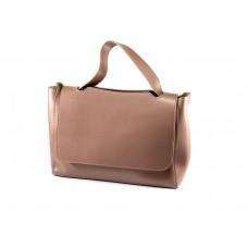 Стильная женская сумка тёмная пудра