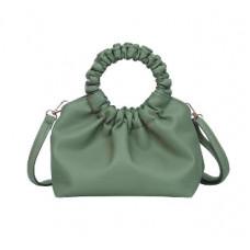 Стильная женская сумочка цвета лайм