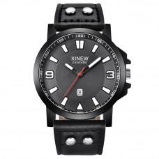 Стильные мужские часы XINEW Black
