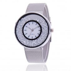 Модные женские наручные часы Silver