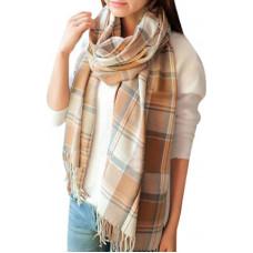 Красивый женский кашемировый шарф