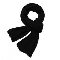 Крутой мужской чёрный шарф