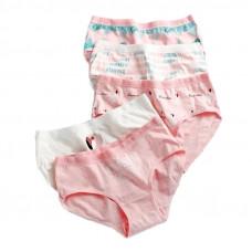 Набор женских трусиков 5 шт. с Фламинго