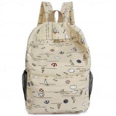 Стильный рюкзак с морским принтом