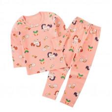 Детская пижама для девочки с принтом единорога