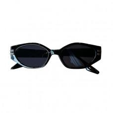 Солнцезащитные очки женские чёрные 0984