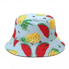 Панама с фруктовым принтом 1016