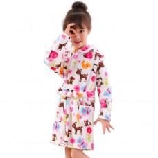 Детский халат для девочки 1034