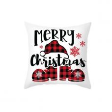 Новогодняя наволочка для подушки с принтом Merry Christmas