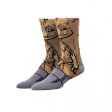 Классные высокие носки с принтом Грут