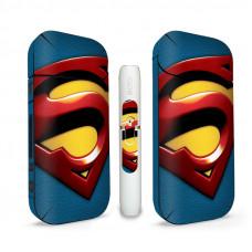 Наклейка на Айкос / IQOS 2.4 Супермен