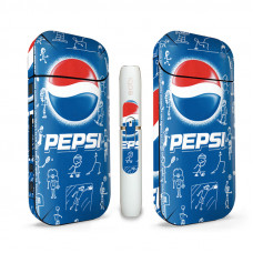 Наклейка на Айкос / IQOS 2.4 Pepsi